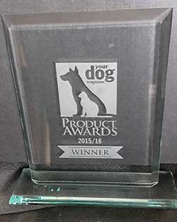 Your Dog Product Award 2016 glass